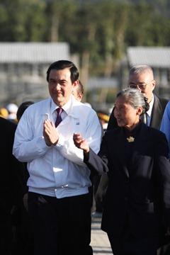 馬英九參訪大愛園區
